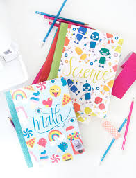 25 ways to decorate a notebook