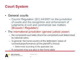 Council Regulation Ec No 44 2001 Brussels Leb Slide Set 4 Choice Of International Choice