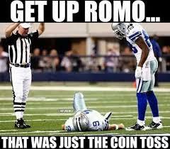 Tony Romo Meme Images - tony romo back injury memes the best of the internet s roast of