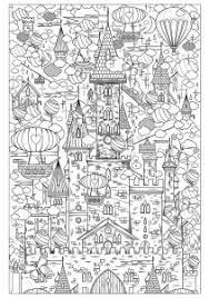 architecture living coloring pages adults justcolor