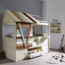 Kids Beds With Storage Boys Tree House Cabin Bed With Storage Childrens Beds Cuckooland