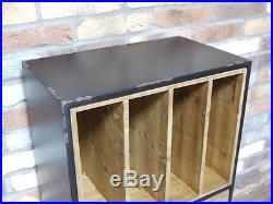 Vintage Industrial File Cabinet Retro Vinyl Records Retro