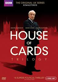 Uk Home Design Tv Shows Remastered The House Of Cards Tv Series Poster Vintage Retro