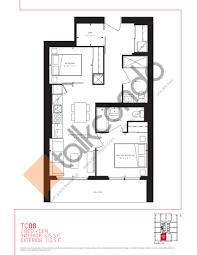 Vaughan Mills Floor Plan Transit City Condos East Tower Talkcondo