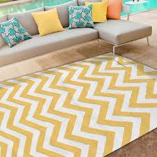 Yellow And White Outdoor Rug Black And White Chevron Outdoor Rug Roselawnlutheran