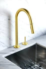 kohler brass kitchen faucets brushed gold faucet vernon manor