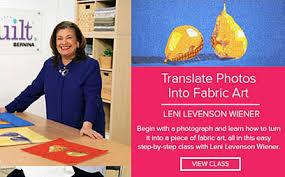 Leni Home Design Online Shop Leni Levenson Wiener U2013 Iquilt Online Class