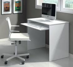 Sit Stand Desk Small White Computer Sauder With Hutch Keyboard