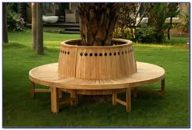 captivating circular seat around tree ideas best inspiration
