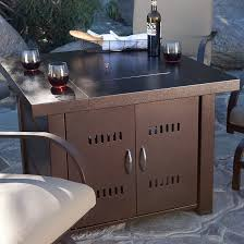 Gas Firepit Tables Belleze 40 000btu Outdoor Patio Propane Gas Pit Table
