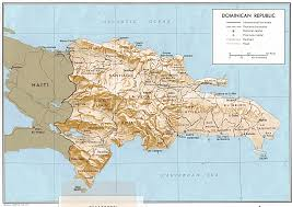 New York Relief Map by Maps Dominican Republic