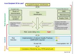 manufacturing risk assessment template establishing a formalized risk assessment for excipients