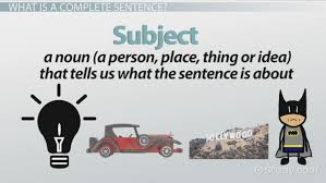 complete and incomplete sentences examples u0026 overview video
