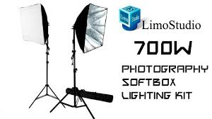 Photography Lighting Kit 700w Photography Softbox Light Lighting Kit Review