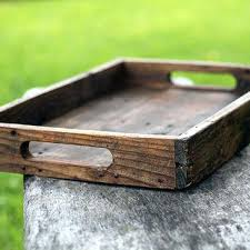 Wooden Trays For Ottomans Large Ottoman Serving Tray Large Ottoman Tray Tray For Ottoman