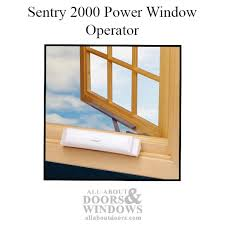 Motorized Awning Windows Sentry 2000 Power Window Operator
