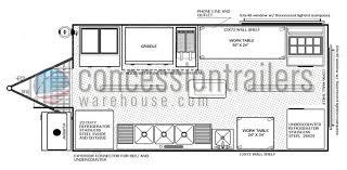 pizza shop floor plan floor plans concession trailers concession nation
