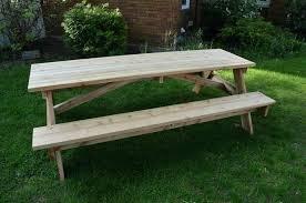 8 foot picnic table plans cedar picnic table 8 pedestal picnic table cedar cedar picnic table