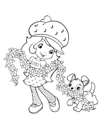strawberry shortcake 47 coloringcolor com