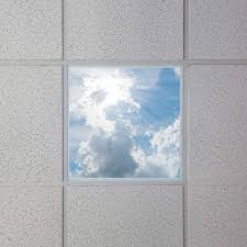 decorative ceiling light panels led skylights 2x2 even glow led panel lights w skylenses drop