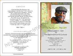 Sample Of Funeral Programs Examples Of Funeral Programs Formats Csat Co