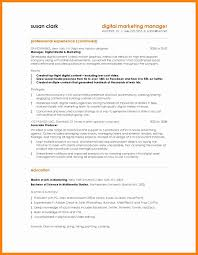 Resume Format For Advertising Agency 7 Marketing Resume Sample Sales Clerked