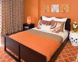Orange Walls Orange Bedroom Decorating Ideas Tropical Master Bedroom Decorating