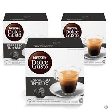 espresso ground coffee nescafe dolce gusto espresso intenso coffee bundle of 3 boxes