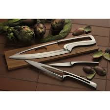 meeting knives set oak stand set of 2 knives déglon touch