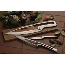 meeting knives set oak stand set of 3 knives déglon knives