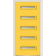 yellow front doors exterior doors the home depot