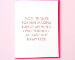 funny mom card etsy