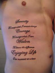 20 quotes for tattoos ribs mens tattoos and