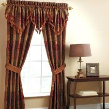 Brown Patterned Curtains Gold Patterned Curtains Endearing Patterned Curtains And Gold