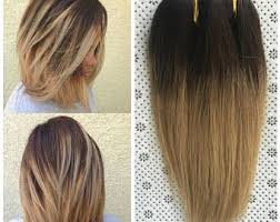honey brown hair with blonde ombre brown blonde ombre etsy