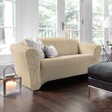 Floor Protectors For Sofa by 5 Steps To Choosing A Durable Sofa Slipcover Overstock Com