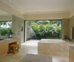 bathrooms tropical bathroom with round bathtub also light solid