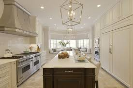 Transitional Kitchen Lighting Transitional Kitchen Design Bilotta Ny