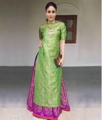 shop online designer indo western gown dress for women
