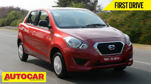 nissan micra on road price in hyderabad 2014 datsun go first drive video review autocar india youtube