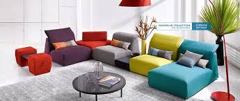 canape fabrique en cuir center corfou canapé composable en tissu nombreuses