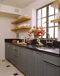 kitchen yellow countertops blue grey kitchen walls kitchen