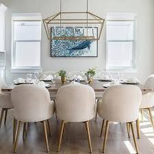 Upholstered Linen Dining Chairs Cream Linen Dining Chairs Design Ideas