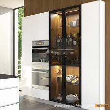 High Gloss Lacquer Kitchen Cabinets Amazing High Gloss Modern Kitchen Cabinets Oppeinhome Com