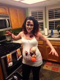 halloween store contact lenses pregnant zombie halloween baby found the baby at a halloween