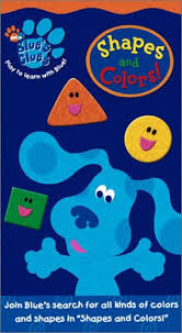 amazon blue u0027s clues shapes colors vhs steve burns