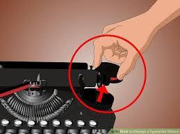 3 ways to change a typewriter ribbon wikihow