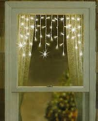 twinkling and shimmering clear window curtain