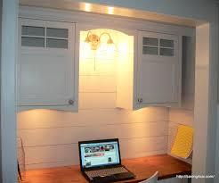 closet office upper cabinets