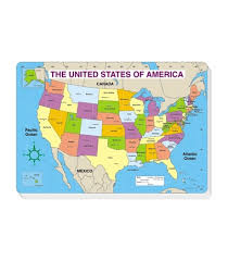 map pad united states map jumbo labeled note pad